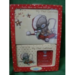 Me To You Tatty Teddy My First Christmas Photo frame and Photo Album gift set